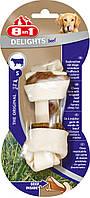 Кость 8 in 1 Delights Beef Bone S для собак жевательная, с говядиной,11 см