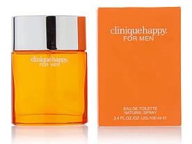 Clinique Happy For Men (Клиник Хеппи фо Мен),мужская туалетная вода, 100ml