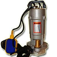 Дренажный насос чугунный корпус QDX 3-18-0,55 (металлик) HydraWorld