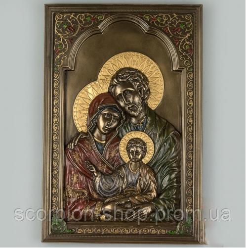 """Икона """"Святая семья"""" (16*23 см) Veronese Италия"""