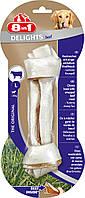 Кость 8 in 1 Delights Beef Bone L для собак жевательная, с говядиной,20 см