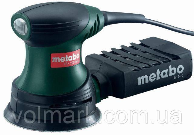Ексцентрикова шліфувальна машина Metabo FSX 200 Intec, фото 2