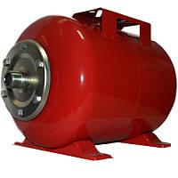 Бак для насосной станции на 24 литра, Гидроаккумулятор Польша, красный