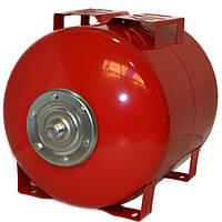 Бак для насосной станции на 50 литров, Гидроаккумулятор Польша, красный