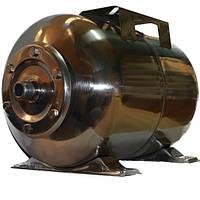 Бак для насосной станции на 24 литра, Гидроаккумулятор, Италия, нержавейка