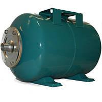 Бак для насосной станции на 24 литра, Гидроаккумулятор Италия, зеленый