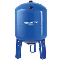 Бак для насосной станции на 100 литров, Гидроаккумулятор  AquaSystem VAV 100 (вертикальный)