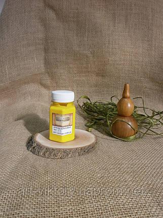 Канареечно-желтый, акриловая краска 100 мл., фото 2