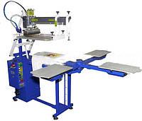 Шелкотрафаретный станок полуавтоматический для печати по ткани SCHULZE KN 4 3550