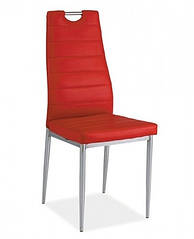 Стул H260 Красный/хром