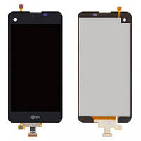Дисплей (LCD) LG K500N/ X Screen/ X View K500DS с сенсором черный