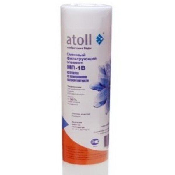 Картридж механической очистки Atoll МПВ (1, 5, 10, 20 mic)