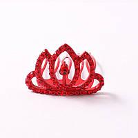 """Маленький гребень """"Красная корона"""""""