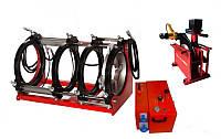 Гидравлический стыковой сварочный аппарат  для сварки полимерных труб встык HOCHWELD HW 250