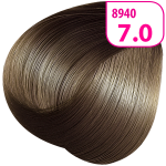 Стойкая СС крем-краска для волос KRASA с маслом амлы и аргинином тон 7.0 Блондин