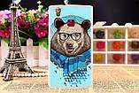 Оригинальный чехол панель накладка для Doogee X5 max pro с картинкой розовая пантера, фото 4
