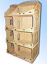 Кукольный домик-шкаф с росписью, фото 6