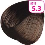 Стойкая СС крем-краска для волос KRASA с маслом амлы и аргинином тон 5.3 Светлый каштан золотистый
