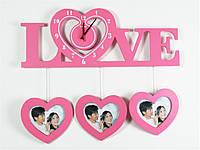 "Часы настенные ""Сердечки LOVE"""