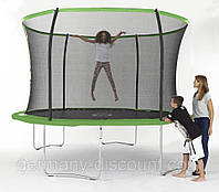 Батут Sportspower 10ft Galvanised Trampoline And Enclosure With Flash Zone ― Green