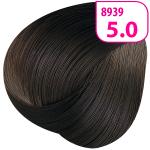 Стойкая СС крем-краска для волос KRASA с маслом амлы и аргинином тон 5.0 Светлый каштан