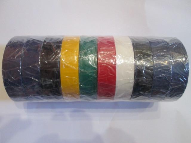 Изолента  ПВХ  Rugdy 30  м цветная