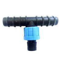 Тройник капельной трубки (SL-021) DN 16*17*16 упаковка (100 шт.)