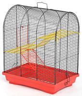 Клетка Бунгало-3 для грызунов, цельная 330х230х430 мм, краска