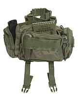 Тактическая модульная поясная сумка, olive. Mil-tec, Германия.