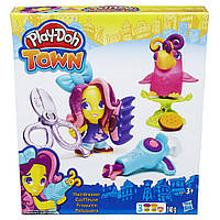 Плей До Парикмахер Play Doh Town Hasbro