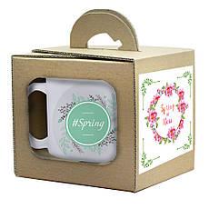Подарочная кружка с костером в коробке, фото 3
