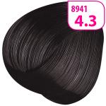 Стойкая СС крем-краска для волос KRASA с маслом амлы и аргинином тон 4.3 Каштан золотистый