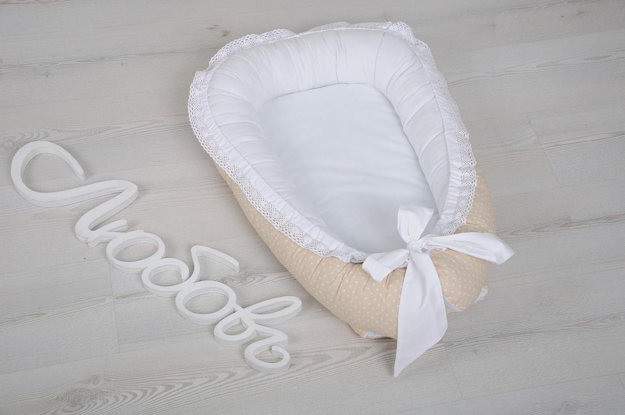 Кружевное гнездо-кокон для новорожденных, Magbaby
