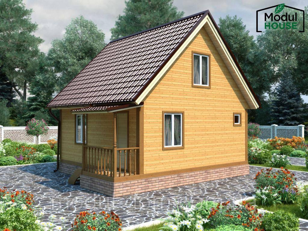 Модульные всесезонные дома от производителя, Модульный каркасный дом всесезонный