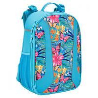 Рюкзак школьный каркасный 703«Tropical flower»K17-703M-2 Kite