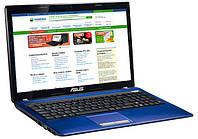 Игровой ноутбук бу Asus K53S Core i5 2430m 2.4GHz/5Gb/750Gb/GF 610m 2Gb