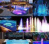 Прожектор светодиодный Aquaviva LED008–252LED (18 Вт) RGB / бетон / лайнер, фото 10