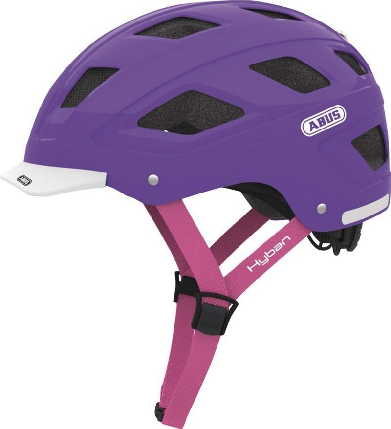 Велошлем ABUS HYBAN Brilliant purple (M)