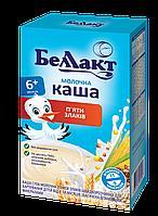 Каша сухая молочная из пяти злаков быстрорастворимая для детского питания