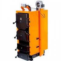 Твердотопливный котел длительного горения ДТМ-24Т с турбиной и автоматикой