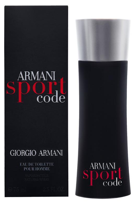 Туалетная вода мужская Giorgio Armani Sport Code, 125 мл