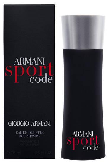 Giorgio Armani Armani Sport Code (Армани Спорт Код), мужская туалетная вода, 100 ml