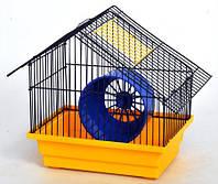 Клетка Хатинка для грызунов, разборная 280х180х290 мм, краска