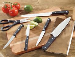 Кухонные ножи, ножницы, подставки, точилки
