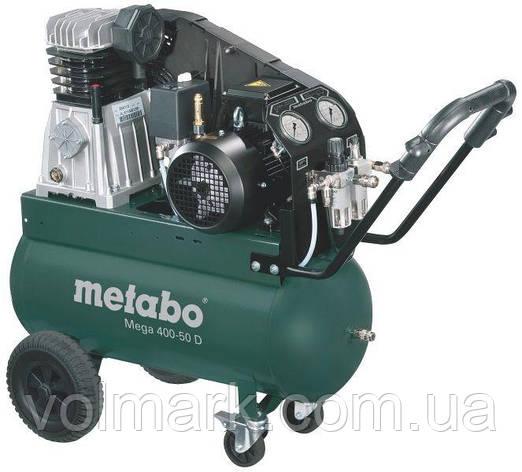 Компрессор Metabo Mega 400-50 D, фото 2