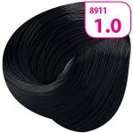 Стойкая СС крем-краска для волос KRASA с маслом амлы и аргинином тон 1.0 Черный