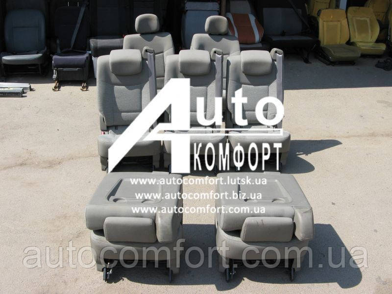 Сиденья автомобильные, салон Renault Espace IV (Рено Эспейс 4), 7 шт.