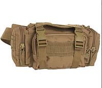 Тактическая модульная поясная сумка, coyote. Mil-tec, Германия.