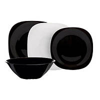 Столовый сервиз 19 пр. Luminarc Carine Black&White N1491