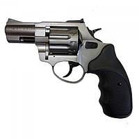 "Револьвер под патрон флобера, Stalker 2.5"", титан, чёрная рукоять."